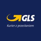 Logo GLS. Kurier zprzesłaniem
